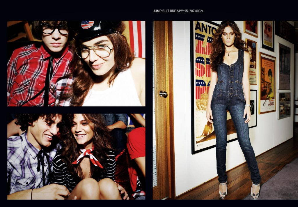 Levi's: Americana Season Collection Launch was a giant campaign that fed content into outdoor billboard advertising, point of sale materials, magazine ads, and catalogues. I was responsible for art direction on this project.