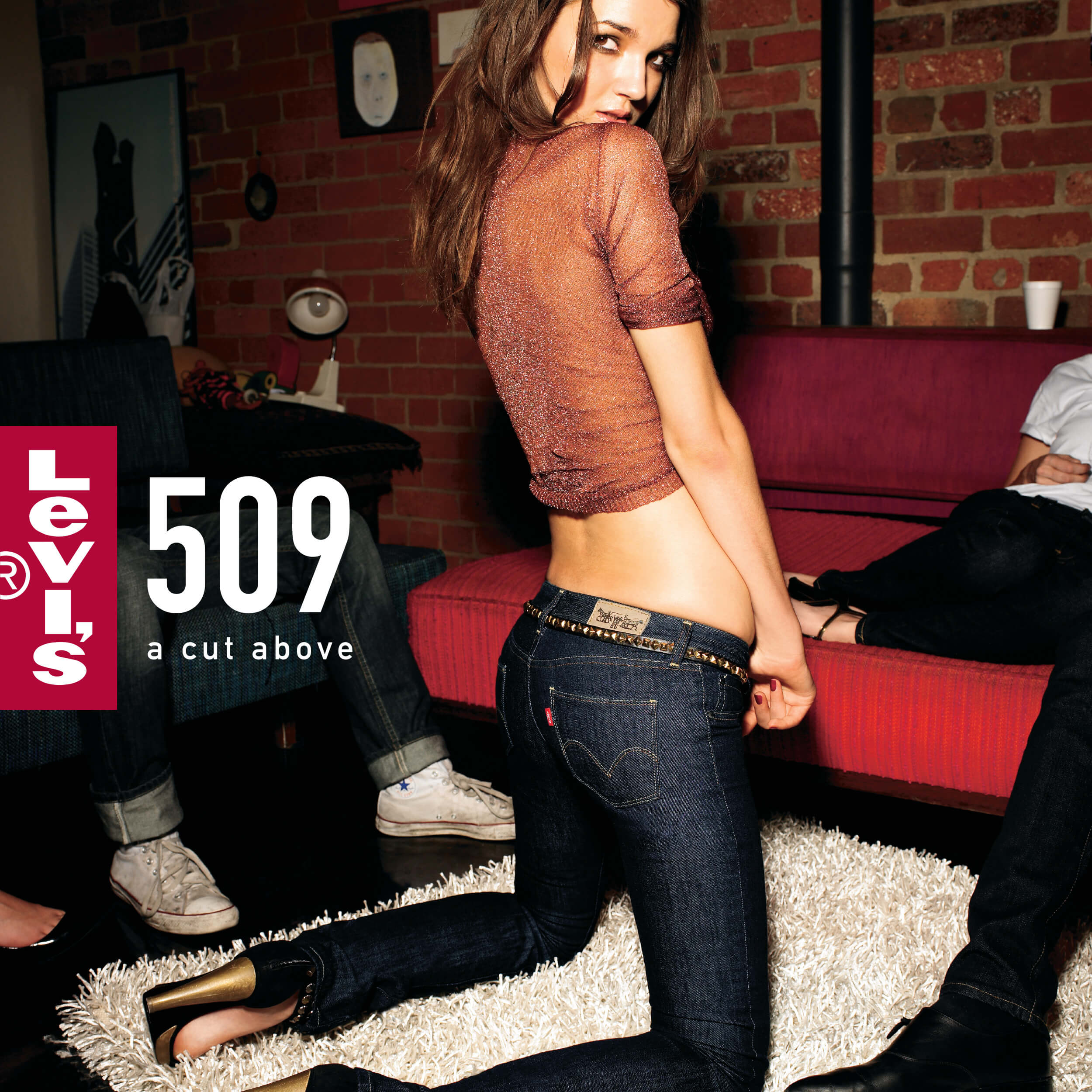 Levi's: A Cut Above - Is a Fashion Shoot to launch their new 509 & 538 jeans in Australia. It was a giant photoshoot that turned into outdoor billboards and magazine print ads. I was responsible for the art on this project.